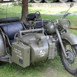 Stock Photo: Motorcycle from world war II