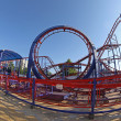 Roller coaster at Sunny beach, Bulgaria — Stock Photo