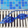 swimming goggles — Stock Photo