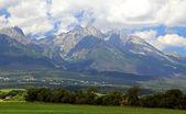 High Tatras mountains, Slovakia — Stock Photo