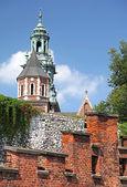 Zamek królewski na wawelu w kraków, polska — Zdjęcie stockowe