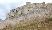 The ruins of Spis Castle, Slovakia — Stock Photo