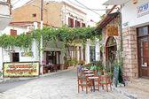Village Panormo at Crete, Greece — Stock Photo
