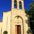 Church in village Panormo at Crete, Greece — Stock Photo