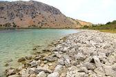 Lago kournas en isla creta — Foto de Stock