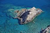 Shallow clear sea of Crete — Stock Photo