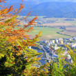 Stock Photo: Ruzomberok from hill Cebrat, Slovakia