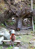 Trolls at Ziarska dolina - valley in High Tatras, Slovakia — Stock Photo