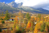 Autumn at High Tatras mountains, Slovakia — Stock Photo