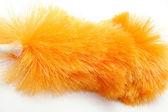 Orange duster — Stock Photo