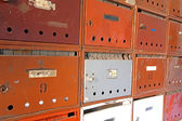 Old postboxes — Stock Photo