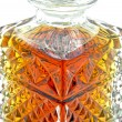 Stock Photo: Crystal whiskey carafe