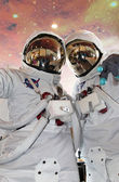 Cosmonauts — Stock Photo