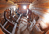 Pribylina - interior of rural house — Stock Photo