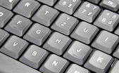 Keyboard detail — Stock Photo