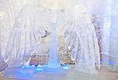 Escultura de hielo — Foto de Stock