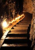 Belianska cave, Slovakia — Stock Photo