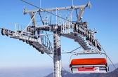 Téléphérique Modern à ski resort jasna - montagnes basses tatras, slov — Photo