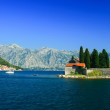 Island of Saint George at the bay of Kotor, Montenegro — Stock Photo #43106625
