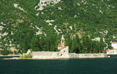 Island of Saint George at the bay of Kotor, Montenegro — Stock Photo