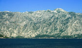 The bay of Kotor - Boka Kotorska, Montenegro — Stock Photo