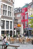 Plac w aachen, niemcy — Zdjęcie stockowe