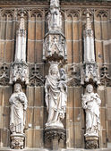 Beautiful statues at Aachen, Germany — Stock Photo