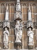 美丽的雕像,在亚琛,德国 — 图库照片