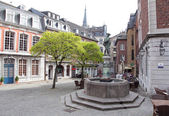 Square at Aachen, Germany — Stock Photo