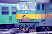 Old locomotive — Stock Photo