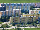 Housing development at Ruzomberok, Slovaki — Stok fotoğraf
