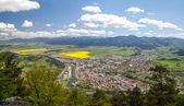 Town Ruzomberok, Slovakia — Stock Photo
