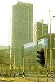 Modern building in Rotterdam - Netherlands — Stock Photo