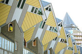 The cube houses in Rotterdam, Netherlands — Stock Photo