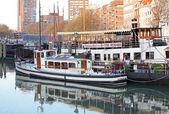 Small port in Rotterdam, Netherlands — Stock Photo
