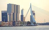 Modern architecture in Rotterdam, Netherlands — Stock Photo