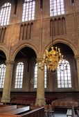 Interior of church Nieuwe Kerk in city Delft, Netherlands  — Stock Photo