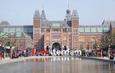 Rijksmuseum in Amsterdam, Netherlands — Photo