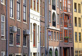 Typical architecture in Amsterdam, Netherlands — Stock Photo