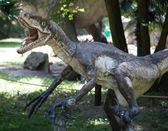Realistic model of dinosaur — Stock Photo