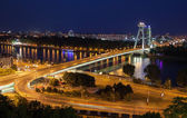 Bridge SNP at Bratislava, Slovakia — Stock Photo