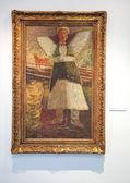 ルドヴィート フラ、スロバキアのギャラリーで bazovsky の絵画 — ストック写真