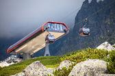 Ropeway at High Tatras, Slovakia — Stock Photo