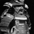 The ancient Japanese samurai costume - Stock Photo