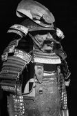 The ancient Japanese samurai costume — Stock Photo