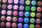 Professional shadows palette — Stock Photo