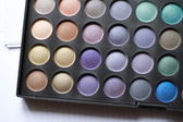Professional shadows palette — Stock Photo