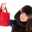 Winter shopping — Stock Photo