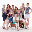Ideas for hen party: marine topics - Stock Photo