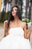 Runaway bride — Stockfoto